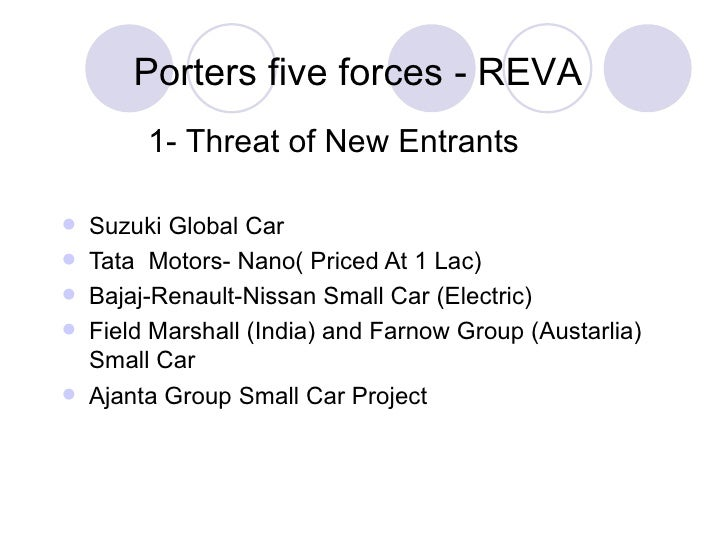 porters 5 forces nissan and renault case study Five forces analysis was developed by michael porter to better identify competitive opportunities and attractiveness within an industry or market.