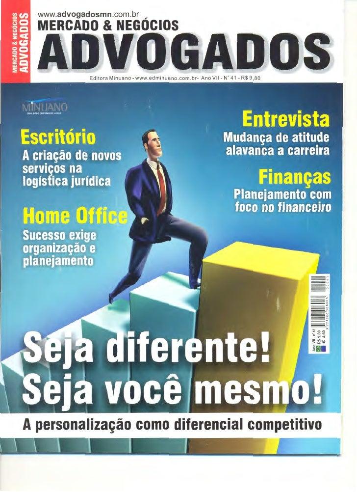 www.advogadosmn.com.br ,   MERCADO & NEGOCIOS A personaliza~ao como diferencial competitivo1                 I       I -   ~