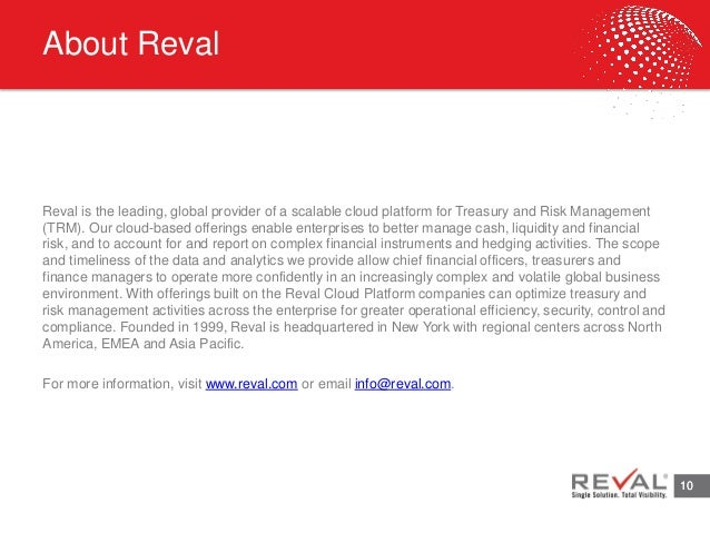 Technology Management Image: Reval Presents Treasury Technology Trends 2015