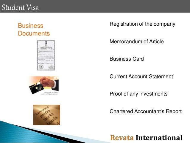 Revata International - Student Visa Process