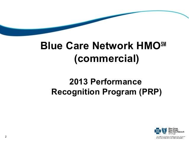 2013 Performance Recognition Program