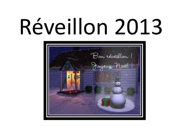 Réveillon 2013