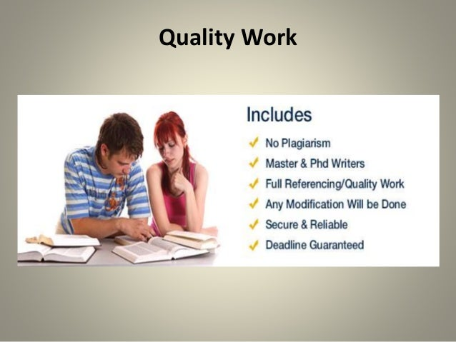 Online thesis writing services work
