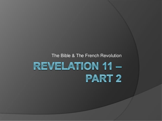 The Bible & The French Revolution