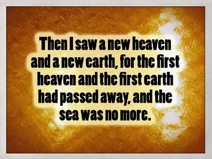 Revelations 21:1
