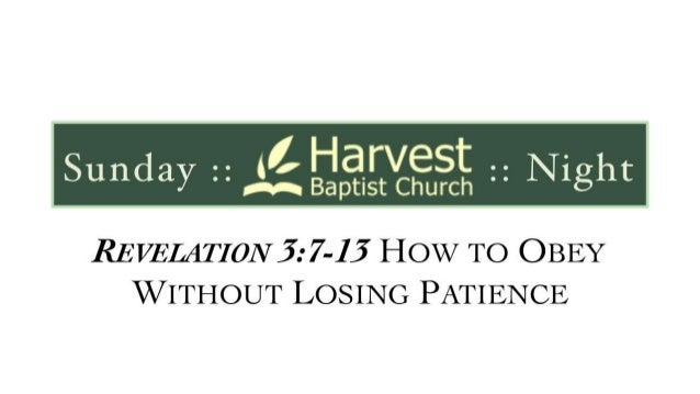 Revelation 3 7 13 slides 022314