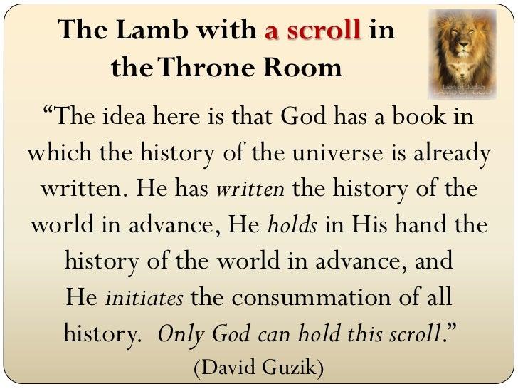 Revelation 5 mar 11, 2012 sermon slides