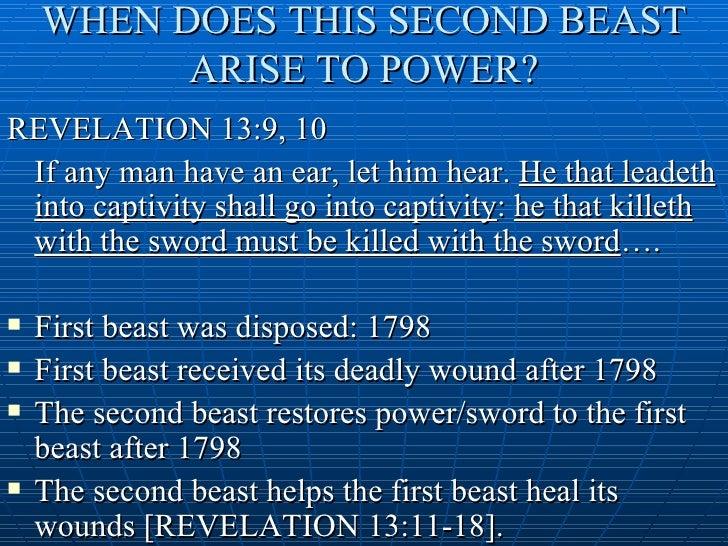 Revelations Second Beast