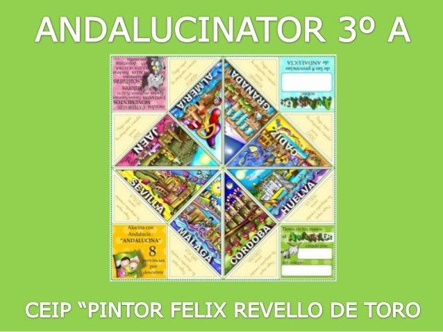 """ANDALUCINATOR 3º A CEIP """"PINTOR FELIX REVELLO DE TORO"""""""