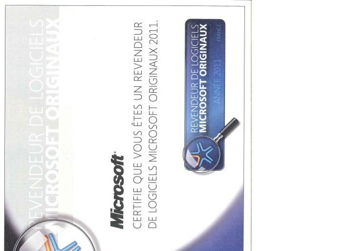 PROJECT SI Revendeur microsoft originaux