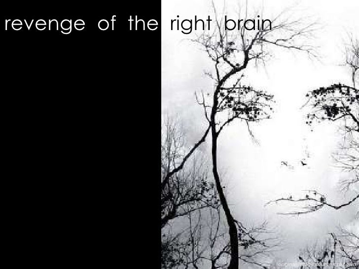 revenge  of  the   right  brain original image source unknown