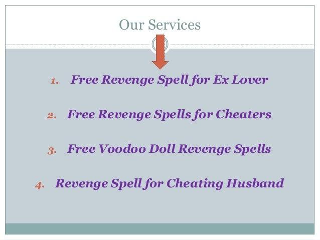 Revenge spells for cheaters