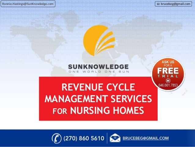 Revenue Cycle Management For Nursing Homes By Sun Knowledge