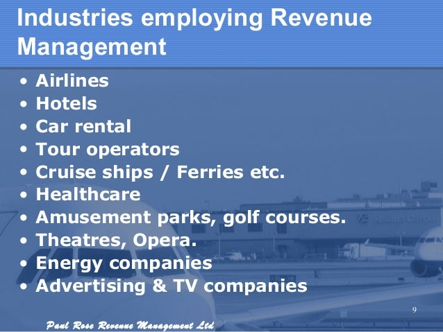 Revenue Management Overview