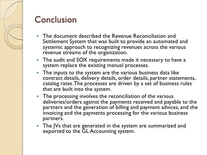Revenue Reconciliation System