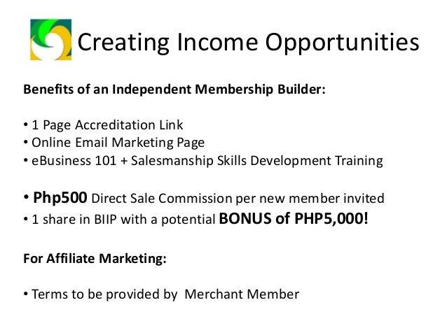 RevenueRiser.Com Business Improvement Incentive Program (BIIP)