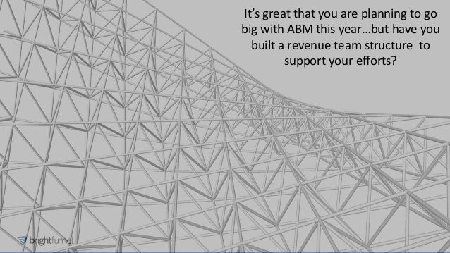 How to Hire, Structure and Train Your Revenue Team for ABM Success Slide 3