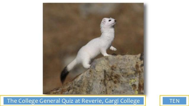Final of the General Quiz at Reverie, Gargi College, 2018