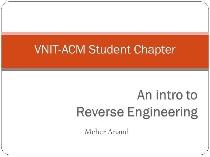 Meher Anand VNIT-ACM Student Chapter