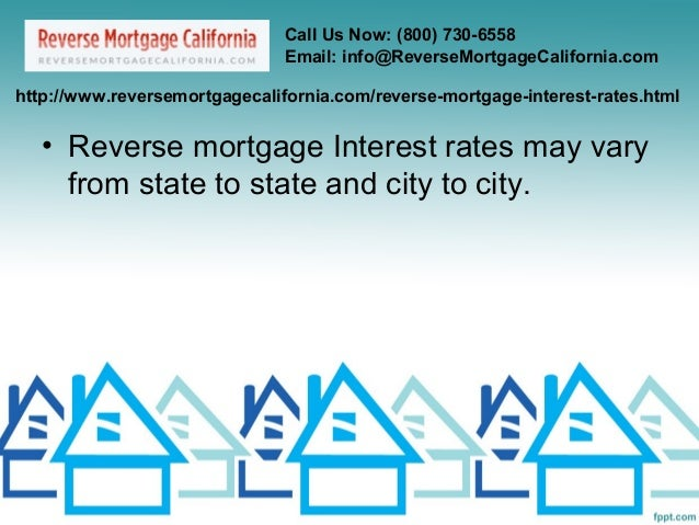 reverse mortgage interest rates
