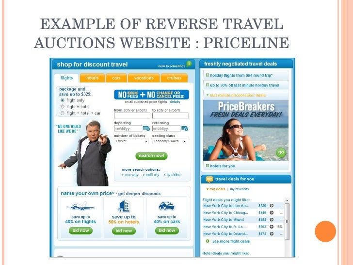 Reverse Auction Websites Analysis