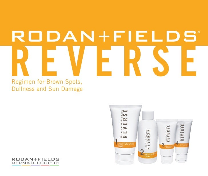 reverseRegimen for Brown Spots,Dullness and Sun Damage
