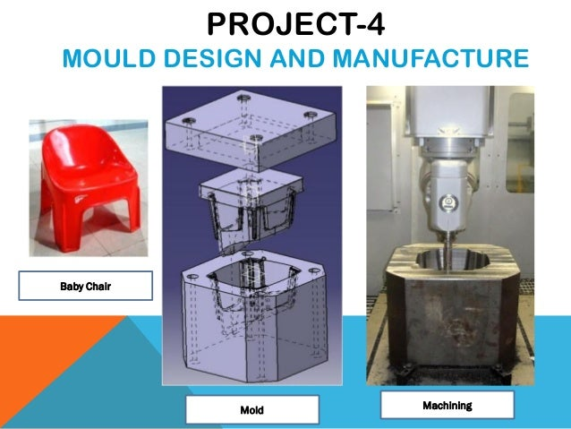 Baby Chair Mold Machining PROJECT-4 MOULD DESIGN AND MANUFACTURE