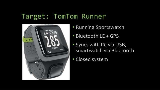 Reverse Engineering the TomTom Runner pt  1