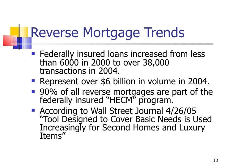 Reverse Mortgage Seminar