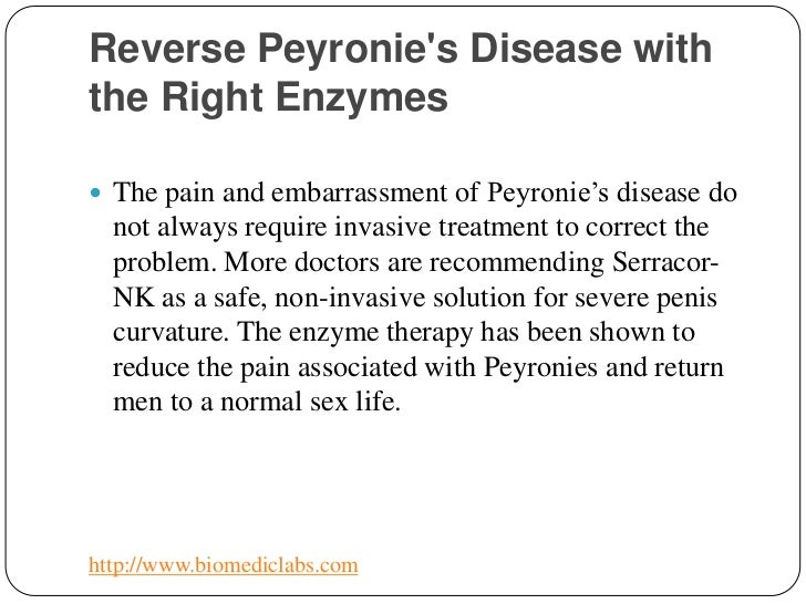 What Is Reverse Peyronie S Disease