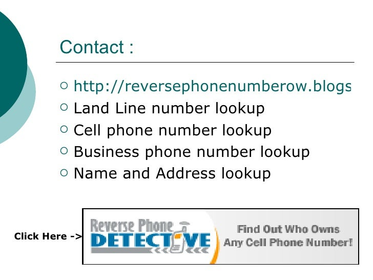 Reverse Phone Number Search Reverse Cellular Phone