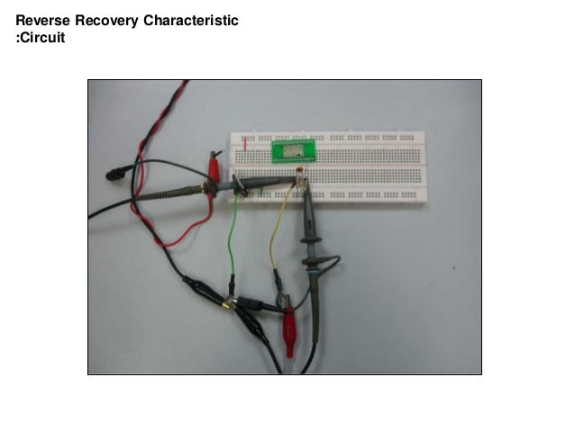 Reverse Recovery Characteristic :Circuit