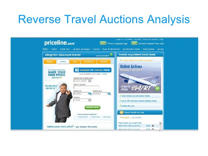 Reverse Travel Auctions Analysis