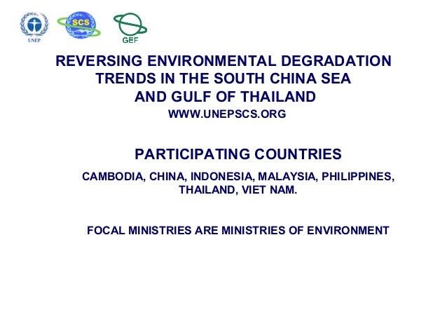 Reversing environmental degradation trends in the south china sea an reversing environmental degradation trends in the south china sea and gulf of thailand publicscrutiny Images