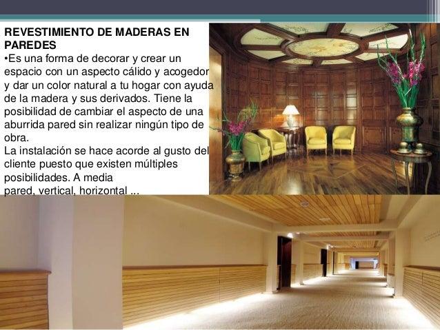 Revestimiento de madera para paredes - Revestimiento para paredes de interior ...
