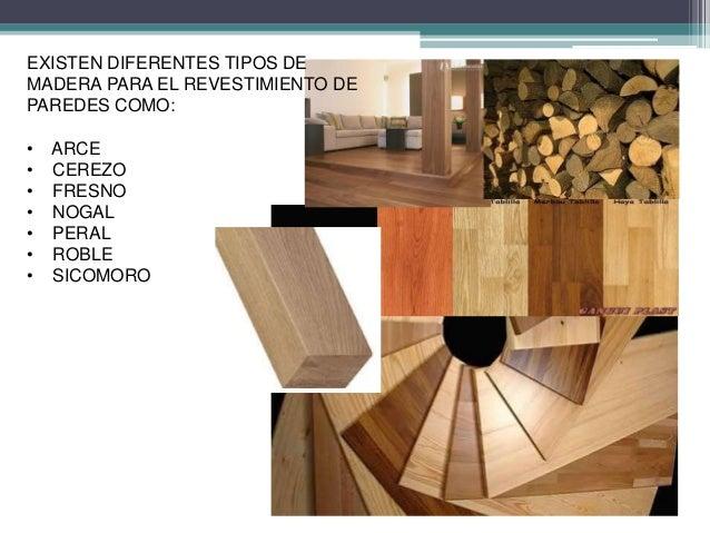 Revestimiento de madera para paredes for Tipos de revestimientos para paredes