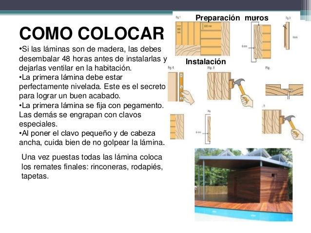Revestimiento de madera para paredes for Laminas para pared