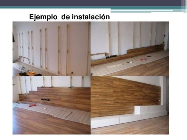Revestimiento de madera para paredes for Revestimiento adhesivo madera