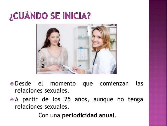 Control Ginecológico adecuado Slide 3