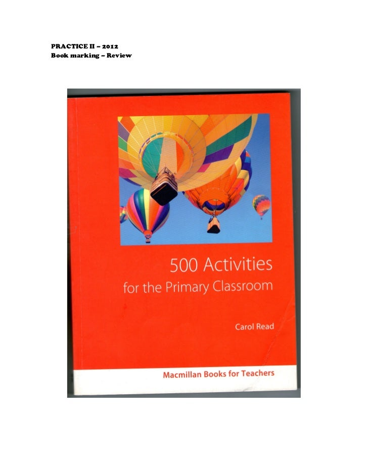 500 activities for the primary classroom download