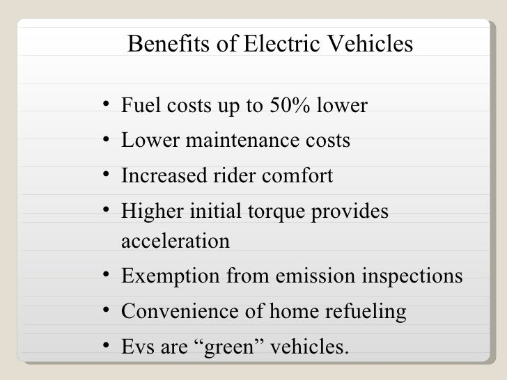 Three benefits of electric vehicles, and how to unlock them