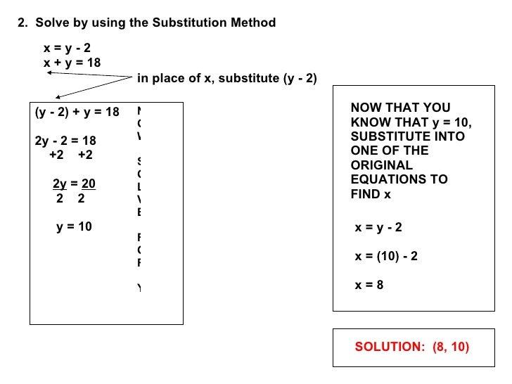 Solving Linear Systems Slide 3