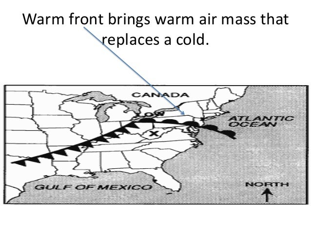 Cold Air Mass : Review air masses fronts