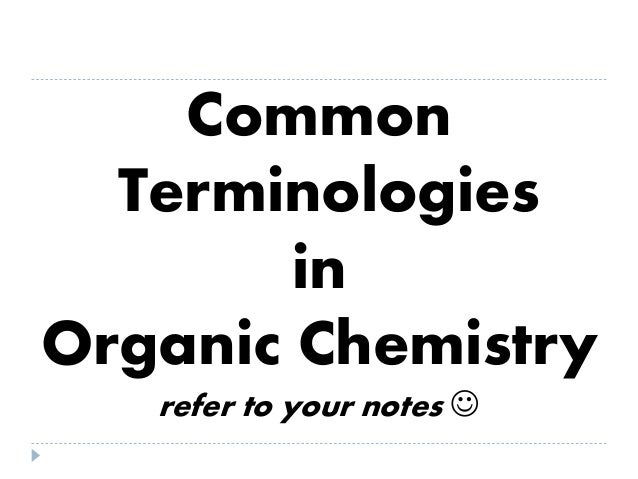 ORGANIC CHEMISTRY COMPLETE (PRE-BOARD REVIEW 2014)