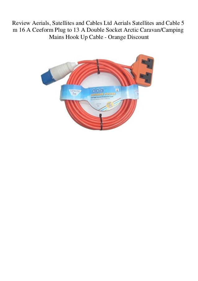External Satellite Aerial Socket For Your Caravan