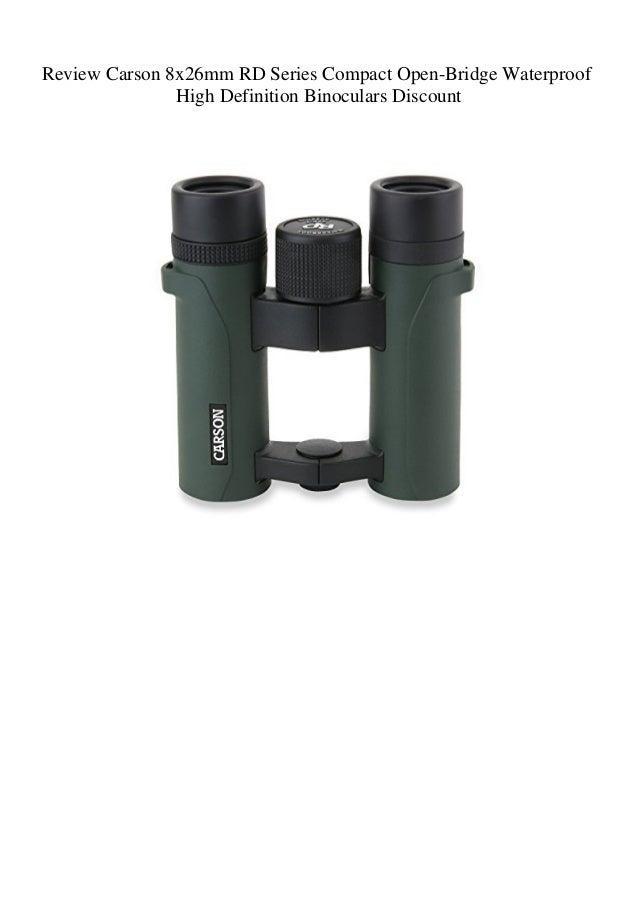Carson Waterproof High Definition Binoculars