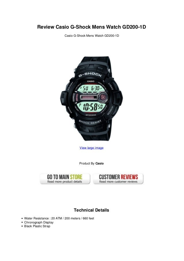 Review casio g-shock_mens_watch_gd200-1_d