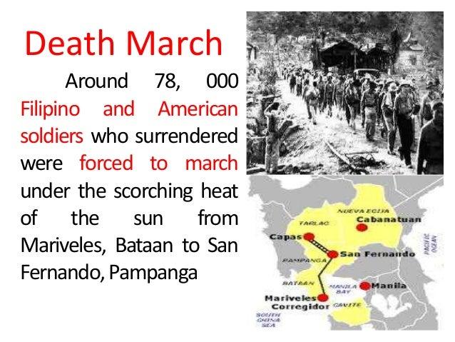 bataan death march significance