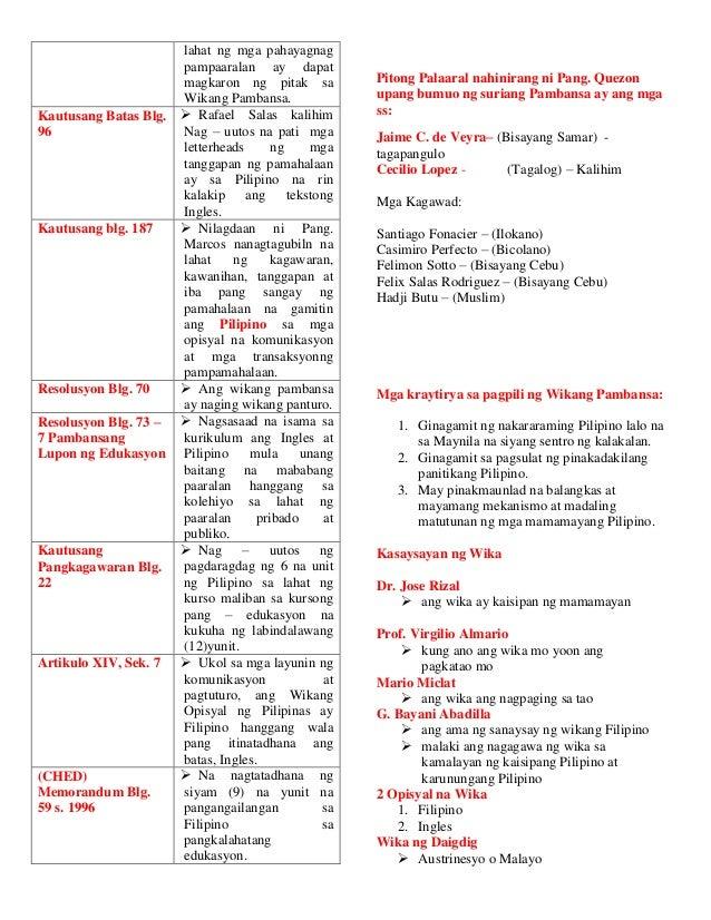 timeline wikang filipino Sangay ng kurikulum at instruksiyon ng sfusd, departamento para sa mga  landas na mahigit sa isa ang wika (sfusd division of.