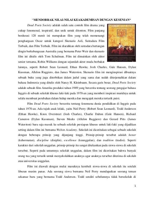Movie review: Dead Poets Society | Movierdo